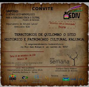 Simposío Kalunga-Convite